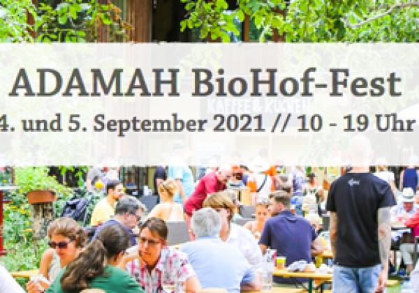 Adamah BioHof-Fest 2021